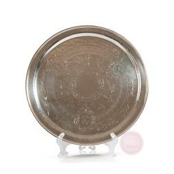 antique silver tray hire