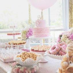 Dessert table decor hire