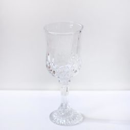 crystal wine glass hire
