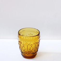 amber glassware hire