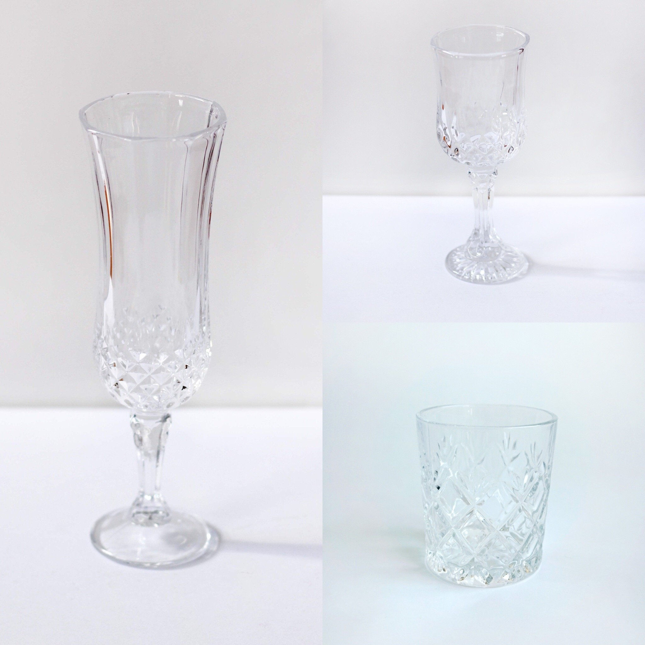 Crystal Glassware Set