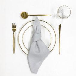 cool grey tableware package