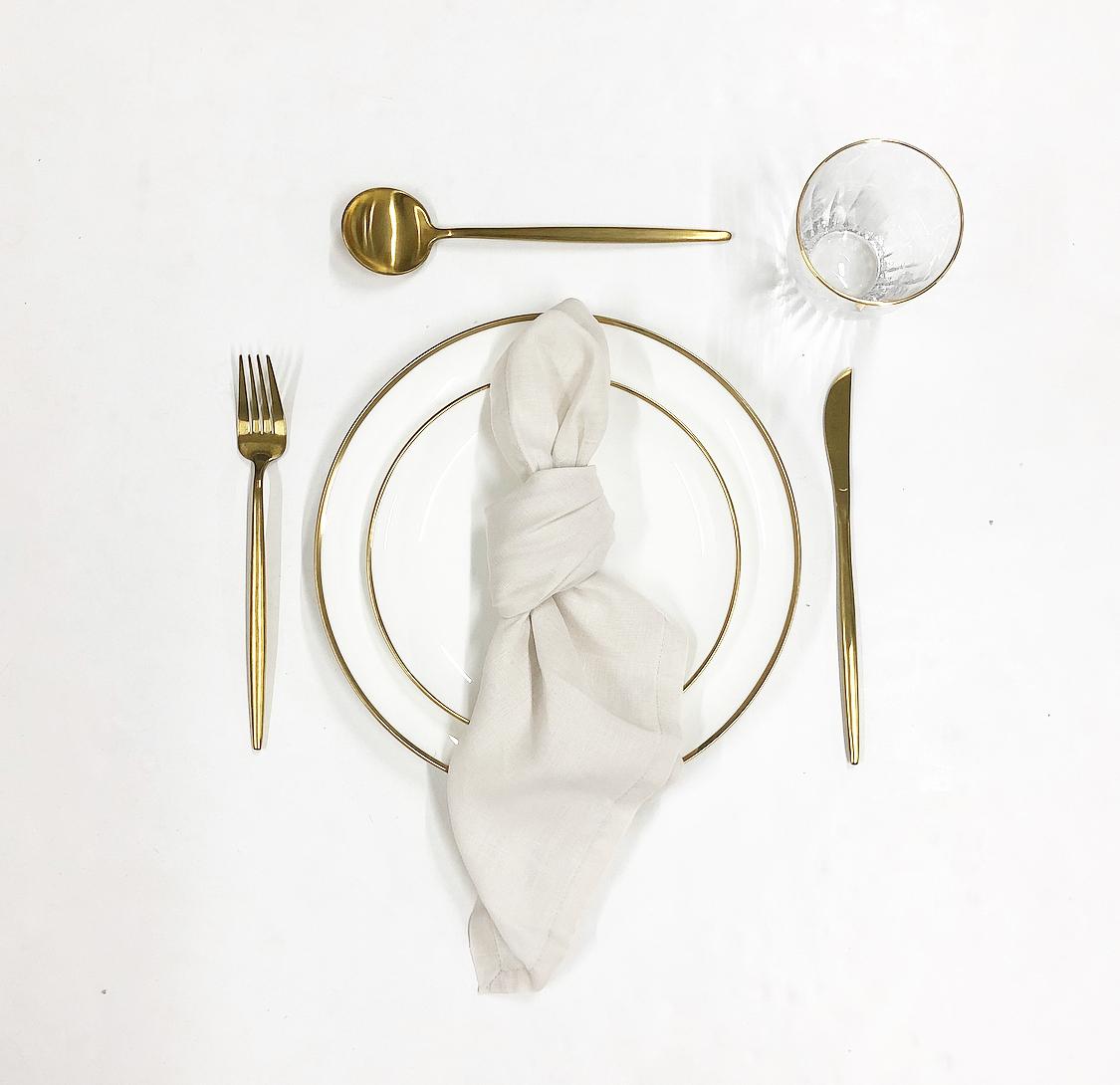 ivory tableware package