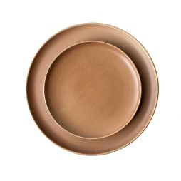 terracotta dinnerware hire